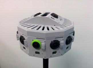 一幅较早的Jaunt原型相机。