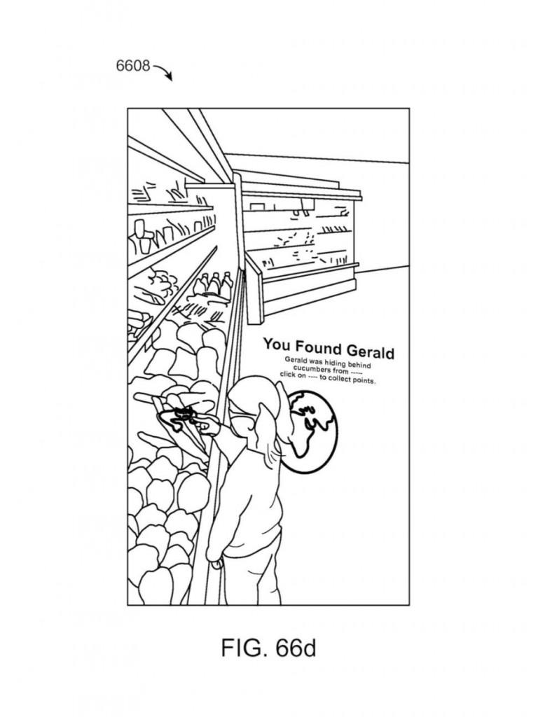 食品经营手绘平面图