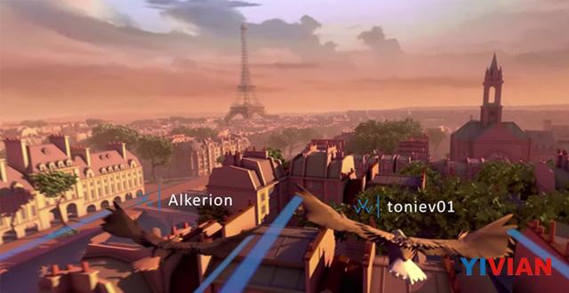 <b>育碧UBISOFT将在E3发布两款全新VR游戏 分别是《Eagle Flight》 和《Werewolves Within》</b>