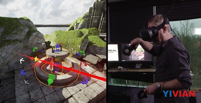 <b>Epic Games发布最新游戏引擎UE4 增加VR编辑器和Daydream支持</b>